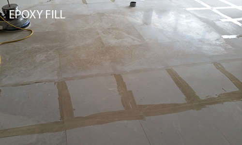 Limestone Epoxy Fill