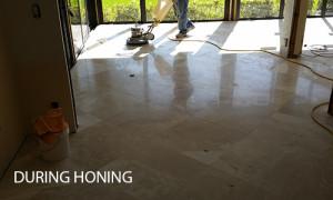 Limestone Floor Honing