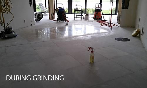 Limestone Floor Grinding
