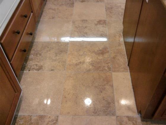 Natural Stone Floor Restoration