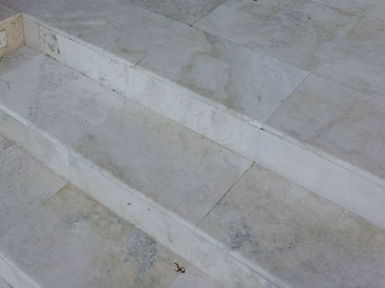 Exterior Natural Stone Cleaning and Restoration